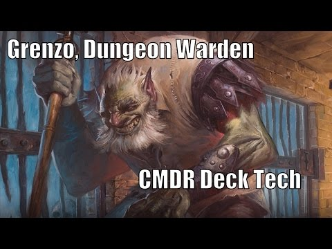 Shaun's Grenzo, Dungeon Warden CMDR Deck [EDH / Commander / Magic the Gathering]