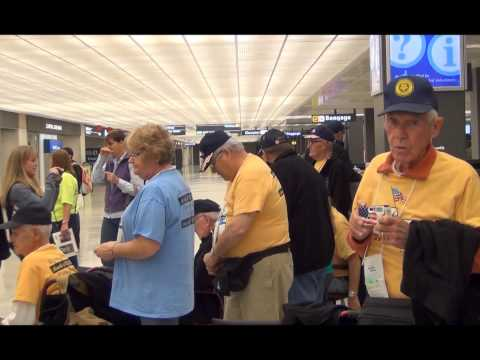 Quad Cities Veterans Are Welcomed Upon Arrival at Dulles Airport