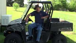 Polaris Ranger 4x4 EV Electric Offroad Transportation for Preppers Bug Out Location