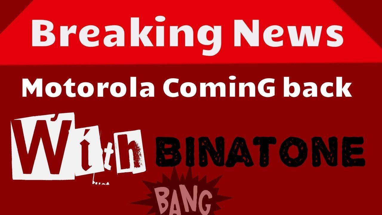 fe1589357ff Binatone Blade: Motorola is bringing back its iconic RAZR flip-phone in the  form of Binaton