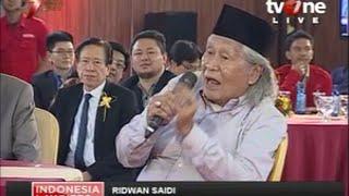 "ILC ""Putusan Jokowi KPK-Polri"": Ridwan Saidi Minta Ditanggapi Tapi Refly Harun Tidak Mau"