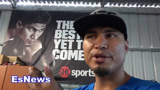 mikey garcia says he is 175 right now EsNews Boxing