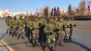 Танкисты из Анголы станцевали в Омске в честь 23 февраля