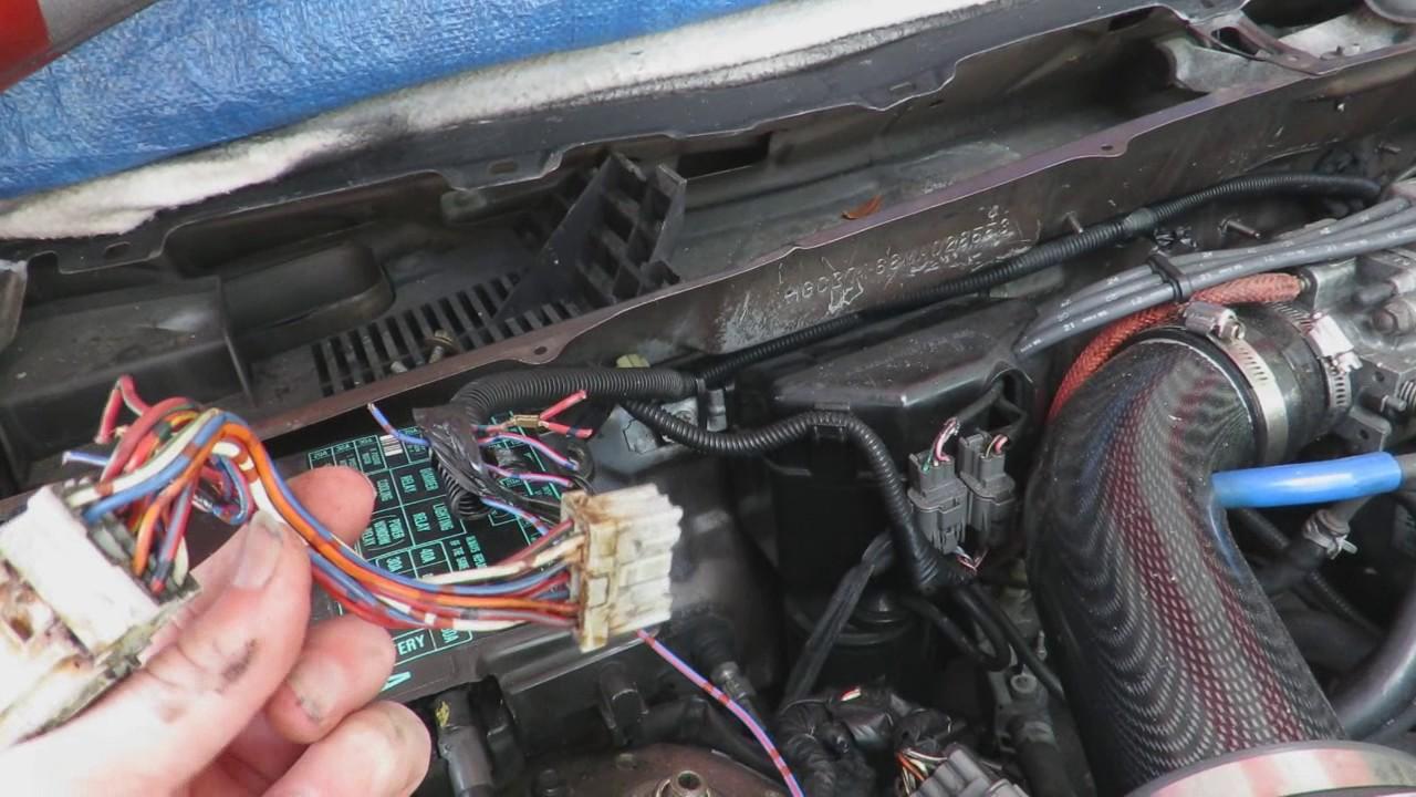 how to install oem fog lights on a 1991 honda accord cb7 [ 1280 x 720 Pixel ]