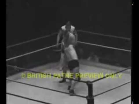 Wrestling: George Gregory vs  Bert Assirati