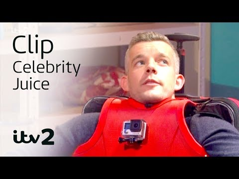Charlie XCX & Russell Tovey Spliced with Suitcases  Celebrity Juice  ITV2