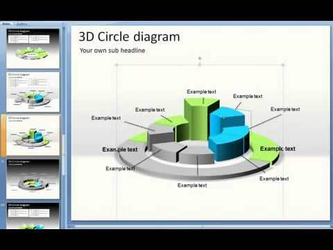 Customize 3D Shapes in PowerPoint