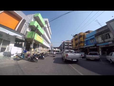 Krabi Ride 13th-15th March 2015 - PART 7 - Day ride round town with rental bikes