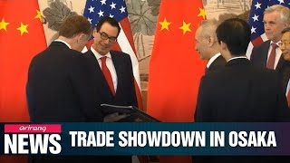 Trump, Xi set for high-stakes trade talks in Osaka on Saturday