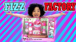 LOL SURPRISE FIZZ FACTORY! DIY BATH BOMBS MAKER MACHINE FIZZ FACTORY WITH ULTRA RARE CHARMS!!