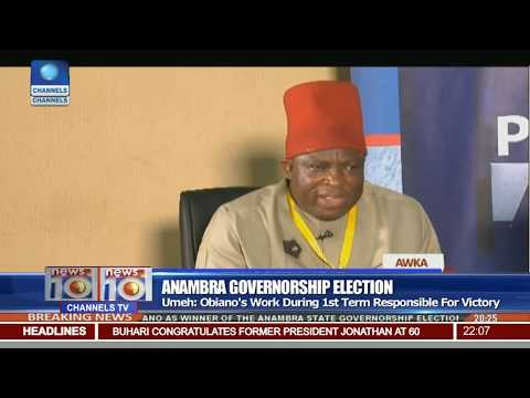 Anambra Governorship Election: Obiano's Work During First Term Responsible For Victory - Umeh