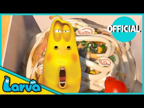 LARVA - CUP OF NOODLES   Best Cartoon Movie   Cartoons For Children   LARVA Official