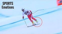 ADMIRABLE ! Sur UN Ski, le Polonais Pawel Babicki a FINI la descente de Bormio
