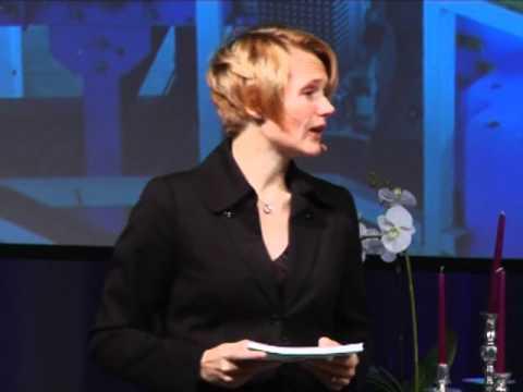 Keynote med IT-minister Anna-Karin Hatt