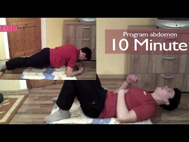 Exercitii pentru Abdomen si Slabit-cum sa ai 6 patratele   7 Zile Sanatoase ziua#3