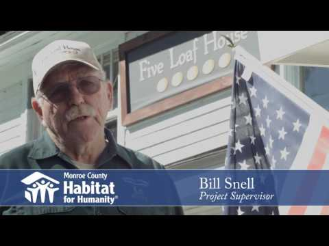 MCHFH Volunteer Bill Snell - Project Supervisor
