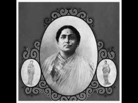 Bal Gandharva Sings Three Songs.
