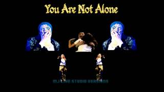 Michael Jackson - You Are Not Alone - Live Studio Version - HWT 1997 (Munich)