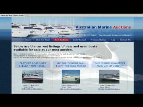 Buying or Selling a Boat? Try Marine Auctions