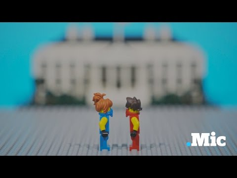 How a Caucus Works, Explained with Lego