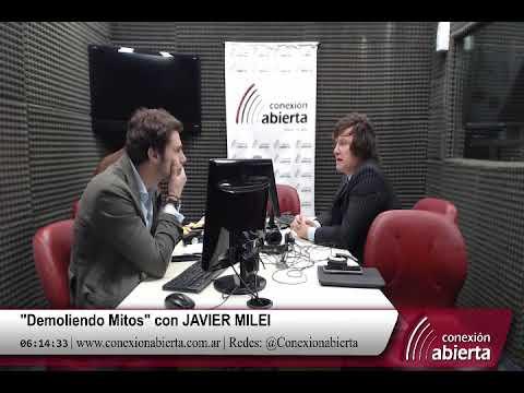 """""""Demoliendo Mitos"""" con JAVIER MILEI 20-04-18 /Radio Conexion Abierta"""