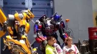 Transformers Universal: Optimus Prime Orders Bumblebee to Grow Ponytail