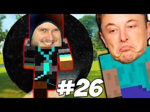 ВОЗВРАЩЕНИЕ БЛУДНОГО МАСКА НА ЗЕМЛЮ \\ Приключения Илона Маска в Minecraft #26