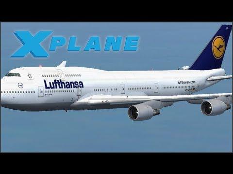 Lufthansa LIVERY bei der Boeing 747-400 in X-Plane 11 EINFÜGEN!