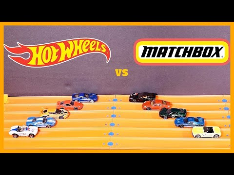 HOT WHEELS vs MATCHBOX - Which is Better?