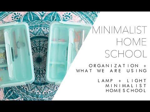 Minimalist Homeschool Organization + Updates