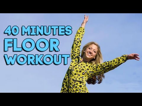 40 Minute Intermediate Floor Barre Workout. Total Body Strength and Length