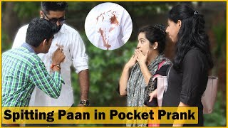 Spitting Paan in Pocket Prank on Cute Girls - Ft. Sunny Aryaa - Prank In India | The HunGama Films