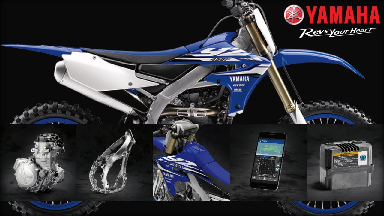 2018 Yamaha YZ450F Motocross Motorcycle - Model Home