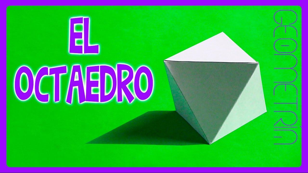 Como hacer un octaedro paso a paso simple y f cil youtube - Como hacer un estor enrollable paso a paso ...