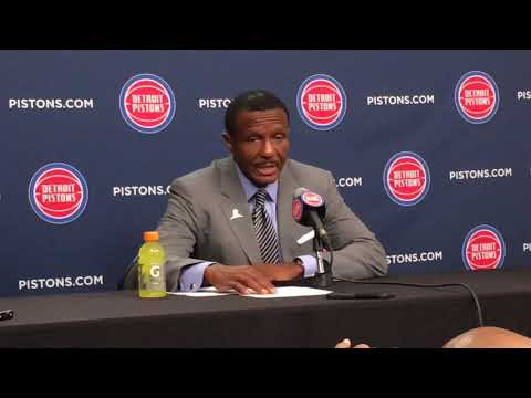 Pistons' Dwane Casey: 'Guys played their hearts out'
