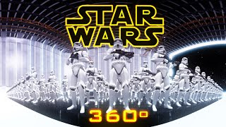 Star Wars - 360° Virtual Reality((ENG) Experience Star Wars in this 360º video. Watch it with maximum quality in YouTube App (updated) on iOS or Android, or Chrome on a computer., 2015-06-16T12:37:44.000Z)