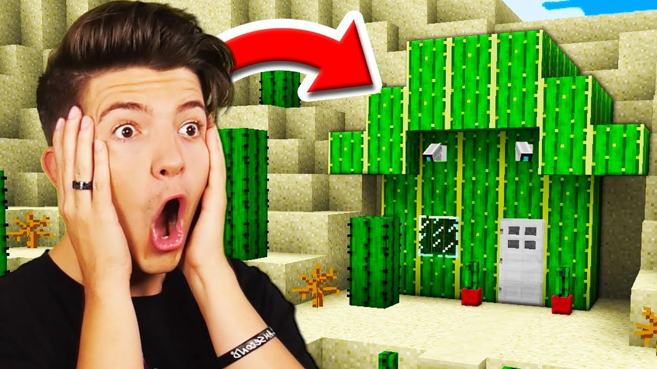 Preston Found My  Secret  Minecraft House