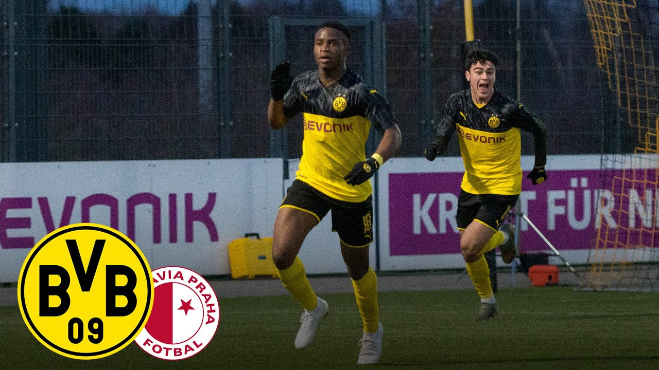 Moukoko & Reyna schießen U19 in nächste Runde! | BVB U19 - Slavia U19 | Youth League | Highlights
