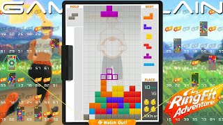 Tetris 99's Ring Fit Adventure Theme Gameplay Trailer 8th Maximus Cup