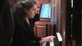 Johann Sebastian Bach, Prélude & Fugue en la mineur BWV 543 - Anne-Gaëlle Chanon, orgue