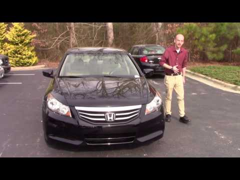 2012 Honda Accord Sedan LX Wilson, NC Walkaround