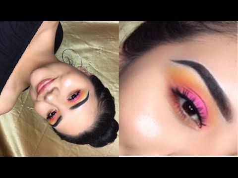 Sunset Eyeshadow Tutorial | Johanna Torres