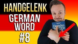 Learn German A.1 🇩🇪 Word Of The Day: das Handgelenk | Episode 08 | Get Germanized