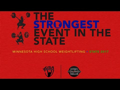 Minnesota High School Weightlifting State Championships - Platform 1