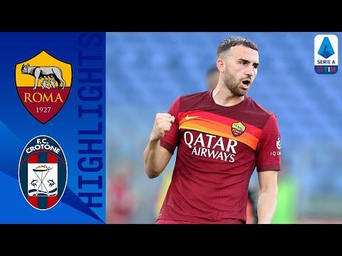 Roma 5-0 Crotone   Larga vittoria della Roma che batte 5-0 il Crotone   Serie A TIM
