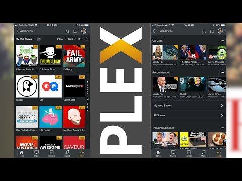 Plex News! Web Shows and Plugins... Mp3