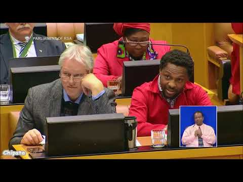 Floyd Shivambu (EFF) asks Cyril about Eskom and SAA