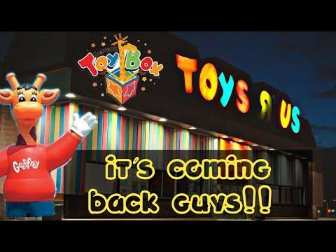 Toys R Us Is Coming Back To The U.S. In 2019. We Are So Happy! Geoffrey The Giraffe Is Back!