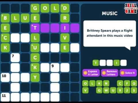 Crossword Quiz MUSIC Level 3 - Walkthrough