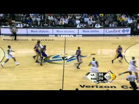 12 05 2008   Lakers vs  Wizards   2nd Half Highlights